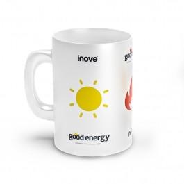 Caneca Linha Funcional Good - Branca - 160ml - Inove Nutrition