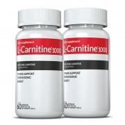 L-Carnitina c/ 02 potes c/60 cápsulas cada (termogênico)