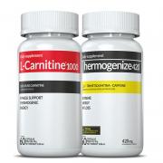 01 L-Carnitina + 01 Thermogenize®420 c/ 60 cápsulas cada (derrete gorduras)