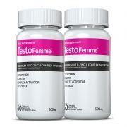 Testofemme® 02 potes c/ 60 cápsulas cada (vitaminas para mulher)
