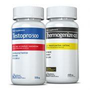 Combo 01 Testopro500® + 01 Thermogenize®420 c/ 60 cápsulas cada (força e desempenho)