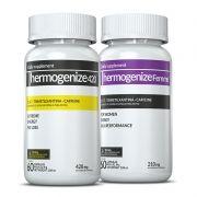 01 Thermogenize®420 + 01 Thermogenize®Femme c/ 60 cápsulas cada (dia a dia e pré-treino)