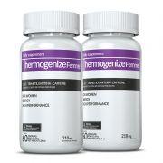 Thermogenize®Femme 02 potes c/ 60 cápsulas cada (energia e definição)