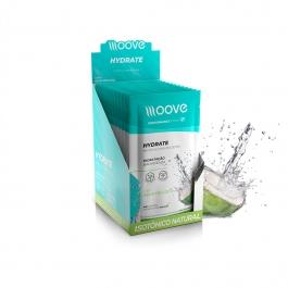 Moove Hydrate - Sabor Água de Coco - Display c/ 12 un - Moove Nutrition