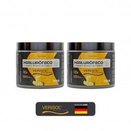 Kit 02 Hialurônico + Colágeno Verisol® - 120g Sabor Abacaxi - Inove Nutrition