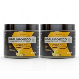 Kit 02 Colágeno Verisol + Ácido Hialurônico - 120g Sabor Abacaxi - Inove Nutrition