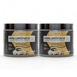 Kit 02 Hialurônico + Colágeno Verisol - 120g Sabor Café - Inove Nutrition