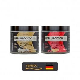 Kit 02 Hialurônico + Colágeno Verisol - 120g Sabores Café - Cranberry Inove Nutrition
