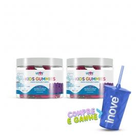 kit 02 Kids Gummies - Vitaminas para Crianças - c/ 30 Gomas cada - Inove Nutrition