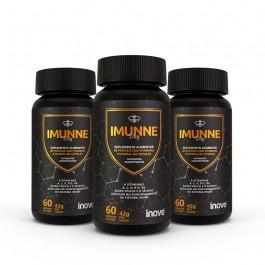 Kit 03 Imunne Day Própolis com Vitaminas e Mineral Inove Nutrition com 60 caps cada Inove Nutrition