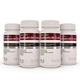 Kit 04 Picolinato de Cromo 60 caps Inove Nutrition