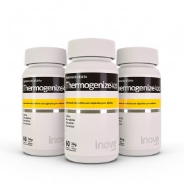 Kit 3x Thermogenize 420 - 60 caps. cada - Brinde - Inove Nutrition