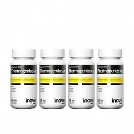 Kit 4x Thermogenize 420 - 60 caps. cada - Brinde Inove Nutrition