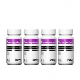 Kit 4x Thermogenize Femme - 60 caps. cada - Brinde Inove Nutrition