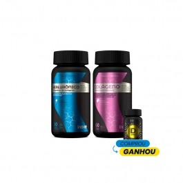 Kit Ácido Hialurônico + Colágeno - Ganhe 01 Vitamina D 2000 ui - Inove Nutrition