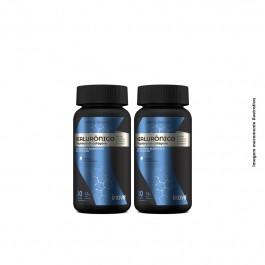 Kit Ácido Hialurônico + Peptídeos de Colágeno Inove Nutrition - 2 potes  c/ 30 caps softgel + Brinde Inove Nutrition