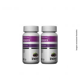 Kit Amora Miura 02 Potes Inove Nutrition c/ 60 cápsulas cada.