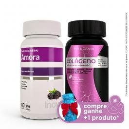 Kit Amora Miura + Colágeno + Vitaminas e Minerais - Compre & Ganhe + 1 Produto - Inove Nutrition