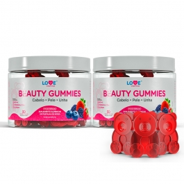 Kit Beauty Gummies - 02 unidades c/ 30 gomas cada + Necessaire - Inove Nutrition