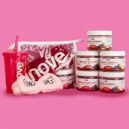 Kit Beauty Gummies - 05 Potes c/ 30 gomas cada - Ganhe 5 Super Brindes Inove Nutrition
