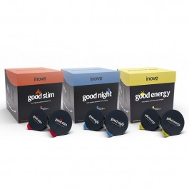 Kit Chá Funcional - Good Energy 10 caps + Good Slim 10 caps + Good Night 10 caps Inove Nutrition®