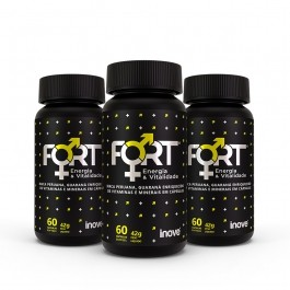 Kit Fort Energia & Vitalidade Inove Nutrition 03 potes - Inove Nutrition