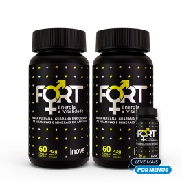 Kit Fort Energia & Vitalidade - Pague 2 leve 3 - Inove Nutrition