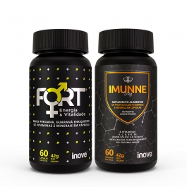 Kit Fort Energia & Vitalidade + Imunne Day - Inove Nutrition