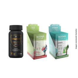 Kit Imunne Day Inove Nutrition + Moove Nutrition Hydrate e Fiber