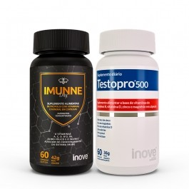 Kit Imunne Day Própolis com Vitaminas e Mineral + Testopro 500 Inove Nutrition 60 cap