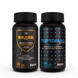 Kit Imunne Day Própolis com Vitaminas e Mineral + Triptofano Dreams 860 mg Inove Nutrition
