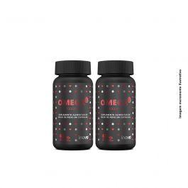 Kit Omega 3 1000mg  Inove Nutrition 02 potes C/ 60 cápsulas softgel