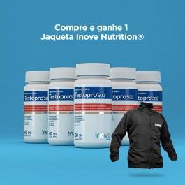 Kit Testopro 500 Inove Nutrition 05 Potes c/ 60 cápsulas cada + Brinde 01 Corta Vento Inove Nutrition