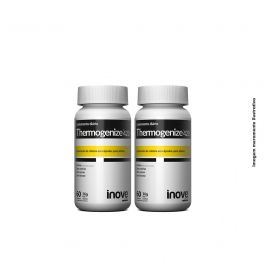 Kit 2x Thermogenize 420 - 60 caps. cada - Brinde Coqueteleira - Inove Nutrition