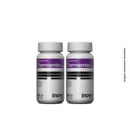 Kit Thermogenize Femme Inove Nutrition 02 Potes c/ 60 cápsulas cada. + Brinde Coqueteleira 600 ML  Inove Nutrition