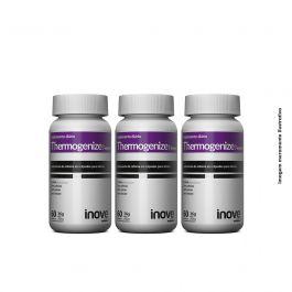 Kit Thermogenize Femme Inove Nutrition 03 Potes c/ 60 cápsulas cada. + Brinde Coqueteleira Inove Nutrition 600ML