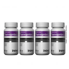 Kit Thermogenize Femme Inove Nutrition 04 Potes c/ 60 cápsulas cada. + Brinde Coqueteleira + porta caps