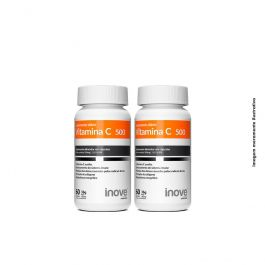 Kit Vitamina C 500 Inove Nutrition 02 potes 60 caps
