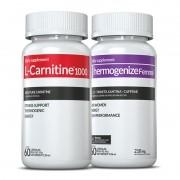 01 L-Carnitina + 01 Thermogenize®Femme c/ 60 cápsulas cada (emagrecedor)