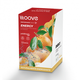 Moove Energy - Tangerina - Display c/ 12 Sachês