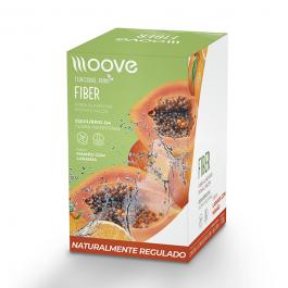 Moove Fiber - Mamão -Display c/ 12 Sachês