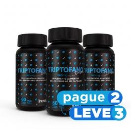 Triptofano Dreams 860mg dose  Inove Nutrition®  60 cápsulas - Pague 2 Leve 3