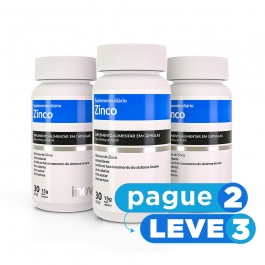 Zinco 30 cápsulas Inove Nutrition PAGUE 2 LEVE 3