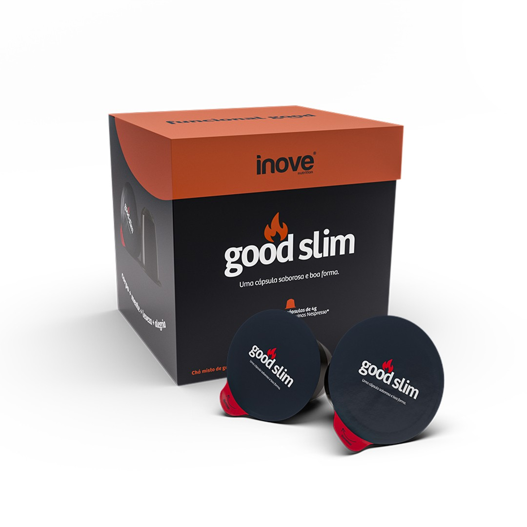 Kit 3x Chá Funcional - Good Slim (termogênico) Inove Nutrition®
