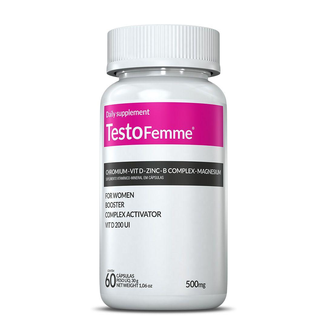 Testofemme® c/ 60 cápsulas (vitaminas para mulheres)