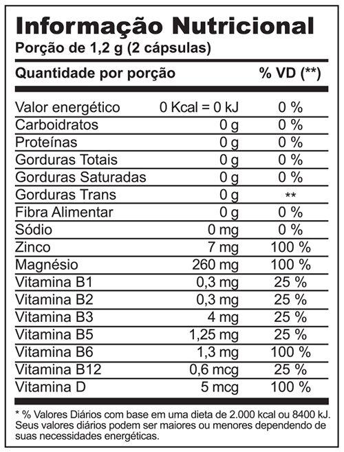 Testopro500® c/ 60 cápsulas (vitaminas para homens)
