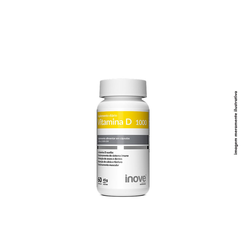 Vitamina D 1000 Inove Nutrition 60 caps