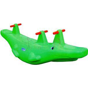 Gangorra Crocodilo 3 lugares