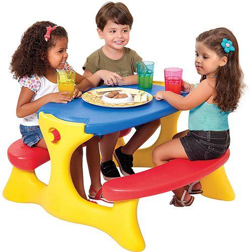 Mesa Infantil Recreio Bandeirantes