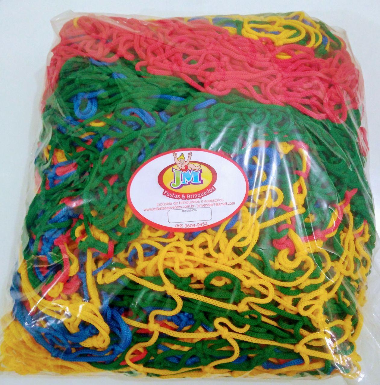 Rede para Piscina de bolinhas 1,10 x 1,10m 5 lados